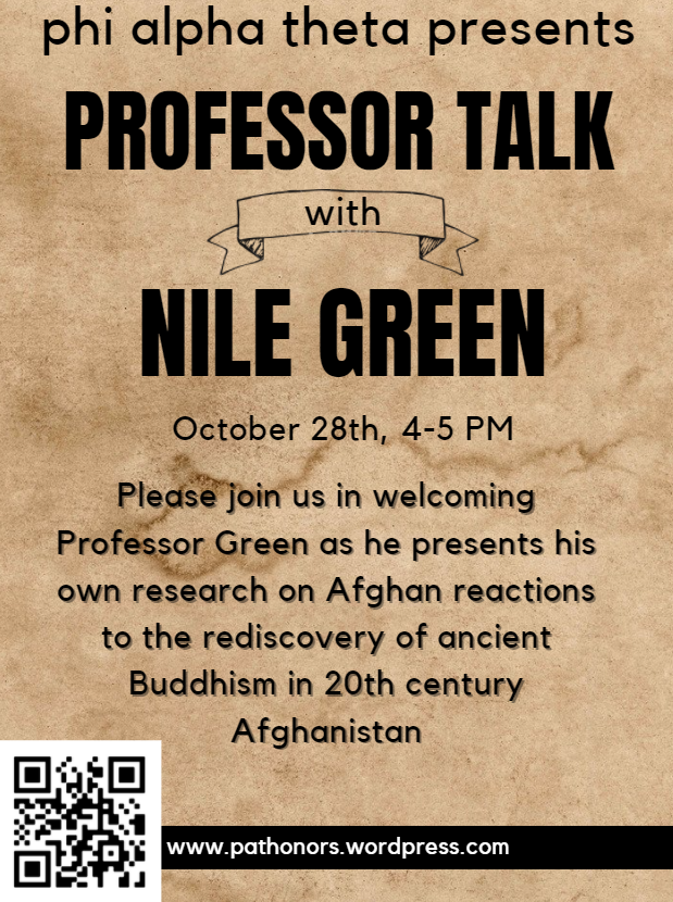 Professor Talk with Nile Green